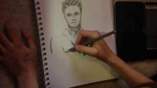 Gerard Way Drawing - time lapse