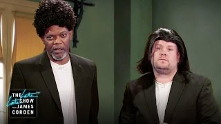 Video Samuel L. Jackson Acts Out His Film Career w/ James Corden MP3, 3GP, MP4, WEBM, AVI, FLV Januari 2019
