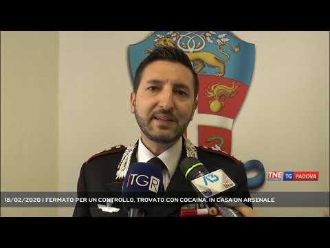 18/02/2020 | FERMATO PER UN CONTROLLO, TROVATO CON COCAINA. IN CASA UN ARSENALE