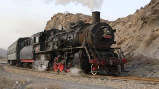 Baiyin China  City new picture : China Steam 2013 - Part 3 - Passenger trains in Baiyin