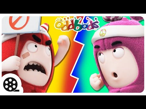 Oddbods | ELECTION FEVER | Funny Cartoon For Kids