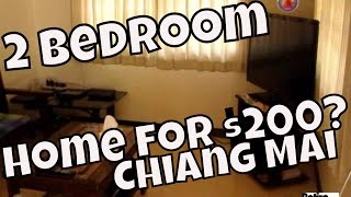 Can You Rent A 2 Bedroom Home In Chiang Mai Thailand For $200