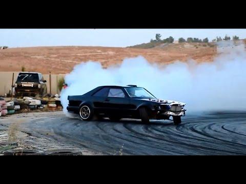 drifting incredibile - mercedes 560 sec