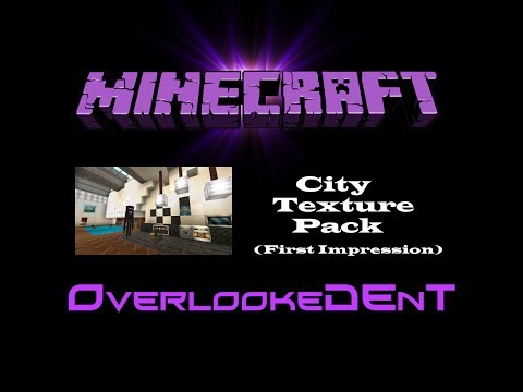 City Texture Pack (1st Impression) - Minecraft Xbox 360 - [Showcase]