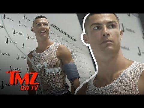 Cristiano Ronaldo Takes A VERY Expensive Physical | TMZ TV