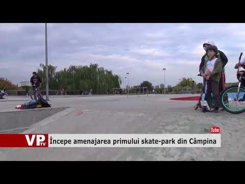 Începe amenajarea primului skate-park din Câmpina