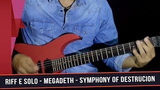 Aprenda a música Symphony of Destruction do Megadeth