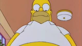 The Simpsons - Homer wants to get fat - buy massive weight gainer