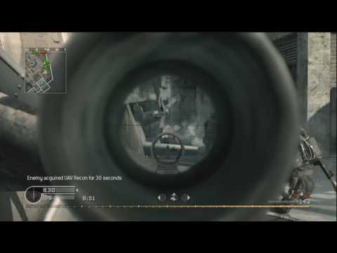 Call of Duty 4 - Team Deathmatch 56 (ACOG G36c) Discussing Black-Ops
