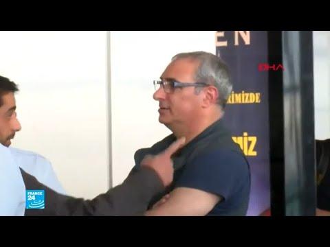 العرب اليوم - شاهد: السلطات التركية تطرد السفير الإسرائيلي وتهينه في المطار