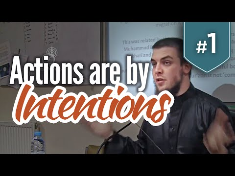 Actions are by Intentions - Session 1 - Tim Humble