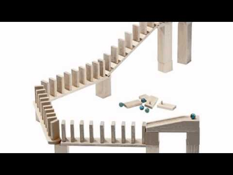 Video Video advertisement of the Domino  Marble Ball Track Accessory