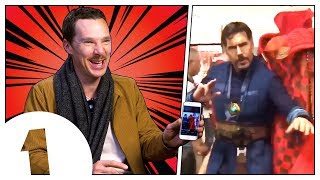 Download Video Benedict Cumberbatch reacts to Doctor Strange memes MP3 3GP MP4