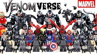 I am Venom Symbiote Venomverse Infection 2018 Unofficial LEGO Minifigures