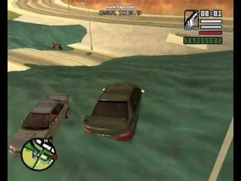 GTA San Andreas Tsunami Attack.wmv