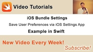 In this video I am going to share with you how to create and use the iOS Settings Bundle for your mobile app. This will help you enable users of your app provide app preferences via the settings app on iOS device.