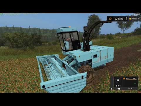 Fortschritt E-281 with 3 cutting units v1.0