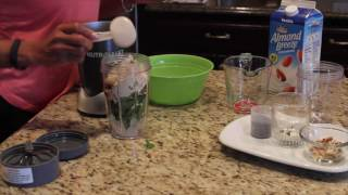 How to Create A Balanced Blended Protein Smoothie For Weight Loss!