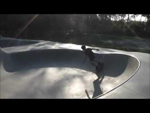New Smyrna Beach Skatepark - Killing it with the Carver Skateboard