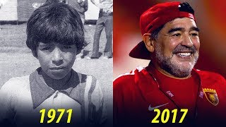 Video Diego Maradona - Transformation From 8 To 57 Years Old MP3, 3GP, MP4, WEBM, AVI, FLV Juli 2018