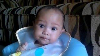Pemberian MPASI Pada Bayi Abrisham Ahmad Rainadha