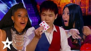 Video MINDBLOWING Auditions By Magician ERIC CHIEN On Got Talent! | Got Talent Global MP3, 3GP, MP4, WEBM, AVI, FLV September 2019