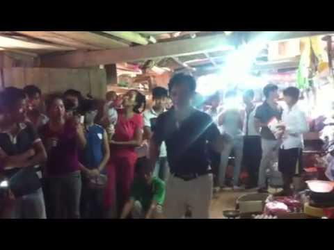 Hiệp gà làm DJ, Quang Tèo nhảy tưng bừng