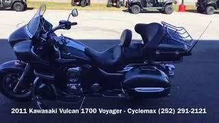 8. 2011 Kawasaki Vulcan 1700 Voyager