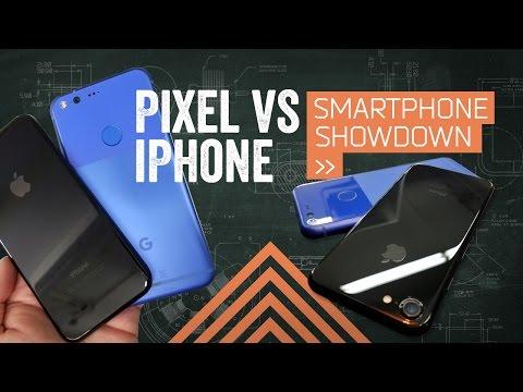 iPhone vs Pixel (видео)