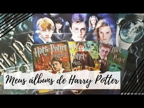 Tour pelos meus álbuns de figurinhas de Harry Potter | VEDA #12 | Um Livro e Só