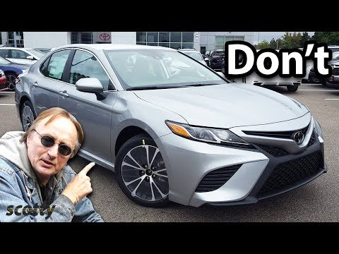 Why Not to Buy a New Toyota Camry