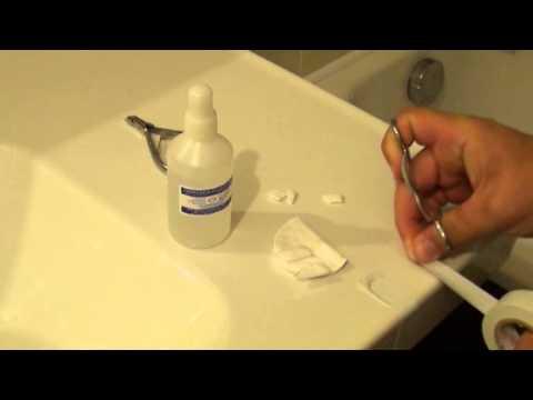 Лечение грибка ногтей серебряной водой