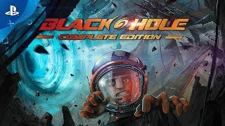 BLACKHOLE, an award-winning hardcore platformer with over 20 hours of story-driven sci-fi comedy and gravity-twisting puzzles, now comes to PS4.When the crew of the spaceship Endera is sucked into a black hole, it seems like the end. Fortunately, the ship crashes on Entity – an unidentified object resembling a planet. After the crash, the first member to wake up is the guy who makes coffee for the crew -- you! There's no one around and your only ally is Auriel, the ship's computer's sarcastic A.I. Together, you'll need to come up with a plan to fix the spaceship, save the others and become heroes of planet Earth by closing the black hole once and for all. It won't be an easy task, because the mysterious caves, lost cities, towering mountains and deep forests are full of tricky, gravity-defying puzzles and deadly traps.http://www.blackhole-game.com© 2016 1C Company. Developed by FiolaSoft Studio. All Rights Reserved.