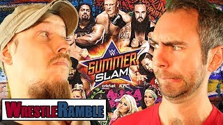 WWE Summerslam 2017, NXT: TakeOver: Brooklyn III Predictions and more in this WrestleRamble with Luke and Oli.Subscribe to WrestleTalk for daily WWE and wrestling news! https://goo.gl/WfYA12Support WrestleTalk on Patreon here! http://goo.gl/2yuJpo05:03 - NXT TakeOver: Brooklyn III Predictions21:22 - WWE Summerslam PredictionsSubscribe to WrestleTalk's WRESTLERAMBLE PODCAST on iTunes - https://goo.gl/7advjXCatch us on Facebook at: http://www.facebook.com/WrestleTalkTVFollow us on Twitter at: http://www.twitter.com/WrestleTalk_TV