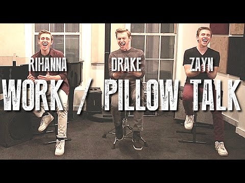 VIDEO: Work and Pillow Talk slow jam mash-up