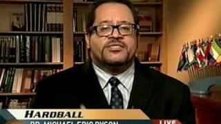 Dr Eric Michael Dyson MSNBC's Pat Buchanan Debate On Race!