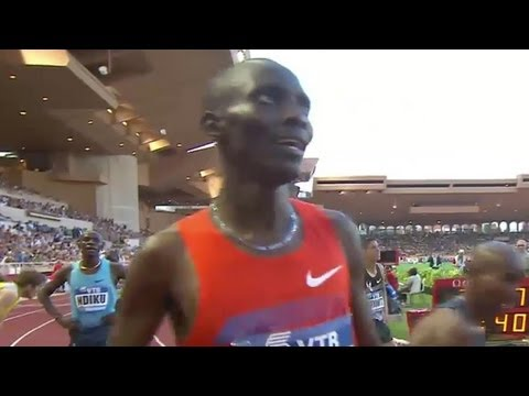 Kiprop runs #4 all-time 1500, Farah breaks UK record at Monaco DIamond League 2013