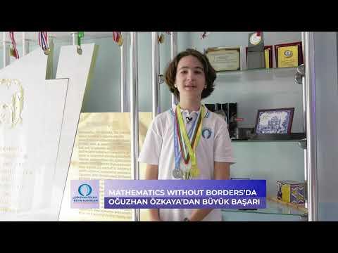 Oğuzhan Özkaya Eğitim Kurumları | Mathematics Without Borders Yarışması Başarısı