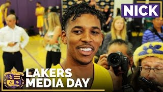 Lakers Media Day 2016: Nick Young by Lakers Nation