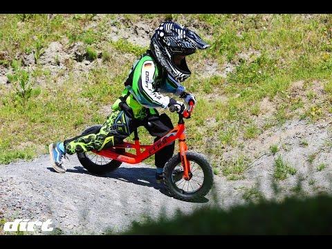 Dirt Kinderlaufradtest