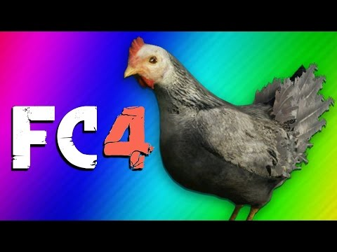 Far Cry 4 Map Editor Madness - Rhino Run, Bear Fights, & Nogla's Chicken!