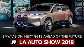BMW Vision iNext heads full-throttle into the future | LA Auto Show 2018 by Roadshow