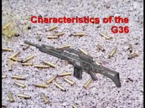 instruction - This is the HK G36 instruction video Part 1. Video index: - Characterictics of the G36 - Control Elements of the G36 - Preparation for firing - Handling at f...