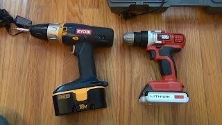 Black&Decker 20v MAX Lithium Drill/Driver (LDX120C) Review