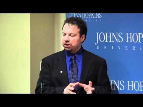 Adam Riess - Nobel Pressekonferenz