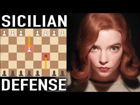 Play the Sicilian Defense like Beth Harmon