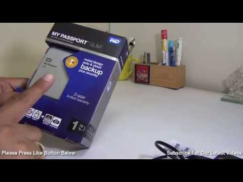 WD My Passport Slim Review With Speed Test And Backup Software Demo