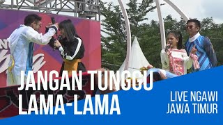 Video LESTY PUTRI & 2R JANGAN TUNGGU LAMA LAMA download in MP3, 3GP, MP4, WEBM, AVI, FLV January 2017