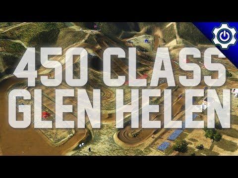MX Simulator - 2018 Race Tech Nationals Round 2 - Glen Helen 450s (видео)