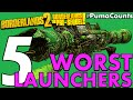 Top 5 Worst Rocket Launchers in Borderlands 2 and The Pre-Sequel! #PumaCounts